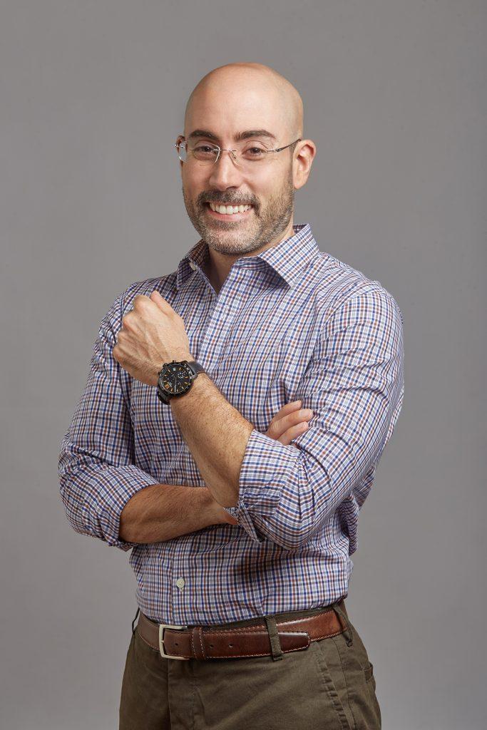 Fotografía retrato corporativo de hombre ejecutivo